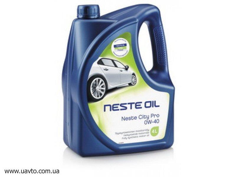 Масло моторное Neste Oil City Pro 0W-40