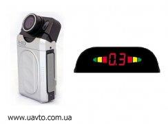 Видеорегистраторы автомобильный HD DVR + парктроник ParkCity