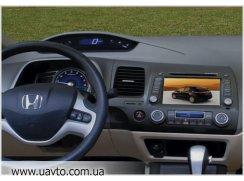 Штатное устройство Phantom Головное устройство на Хонду Цивик (Honda Civic 4D)