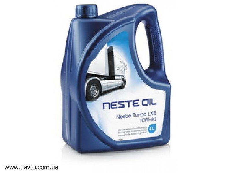Масло моторное Neste Turbo LXE 10W-40