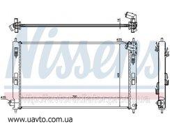 Радиатор охлаждения CITROEN C4 AIRCROSS (12-) 1.6 i 16V