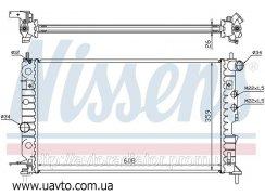Радиатор охлаждения OPEL VECTRA B 95- 1.6 Опель Вектра Б цена