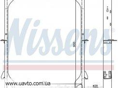 Радиатор охлаждения IVECO EUROSTAR (93-) E Радиатор двигателя