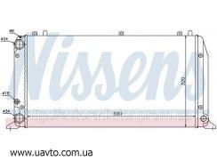 Радиатор охлаждения Nissens, Behr  AUDI 80  90 (86-) 1.6