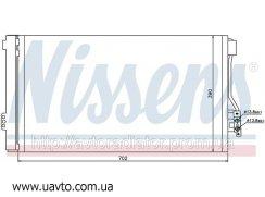 Радиатор кондиционера MERCEDES VIANO W 639  Мерседес Виано (03-)