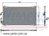Радиатор кондиционера PEUGEOT 406 (95-) 1.6i