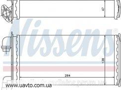 Радиатор отопителя  BMW 3 E30 (82-) 316 авторадиатор БМВ 3