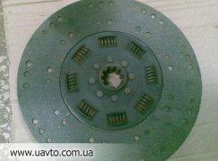 ДИСК СЦЕПЛЕНИЯ ВЕДОМЫЙ ТУТАЕВ  ЯМЗ-8421 двигатель Тутаевский