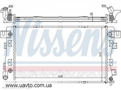 Радиатор двигателя   CHRYSLER CONCORDE  Крайслер (93-) 3.3i V6