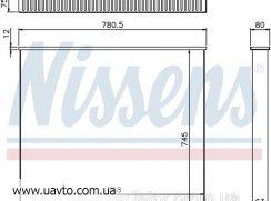 Сердцевина интеркулера VOLVO F 10-12 Вольво Ф радиатор под заказ