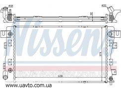 Радиатор охлаждения CHRYSLER CONCORDE Крайслер (93-) 3.3i V6