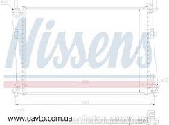 Радиатор охлаждения FORD FIESTA (01-) 1.25 Форд Фиеста
