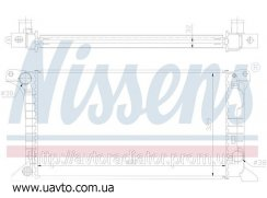 Радиатор охлаждения FORD TRANSIT (86-) 1.6 Форд Транзит цена