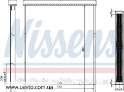 Сердцевина радиатора TitanX Титанкс Вольво  VOLVO FH 1216