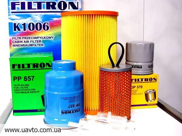 Фильтр салона FILTRON в ассортименте