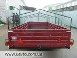 Кремень Лев ДВУХОСНЫЙ прицеп 360*160 см под тяжелый и габаритный груз