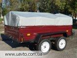 Прицеп Завод прицепов Лев прицеп Лев-210 двухосный на кат.В