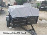 Новий причіп легковий  Дніпро-170х130х40 та інші