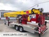 Кран KLAAS с платформой K21-30 TSR