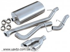 Глушитель  на Chevrolet Niva