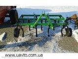 Культиватор  пружинный сплошной обработки 2,1 м навесной (Польша)