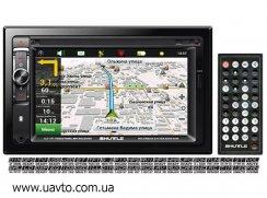 Мультимедийный центр с GPS Shuttle  SDUN-6950 BlMulti DVD (2 DIN)