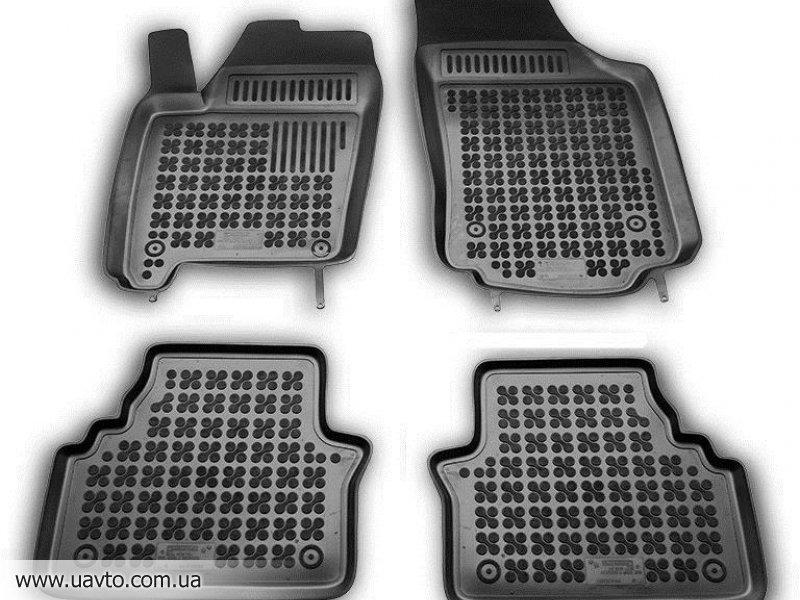 Комплект ковриков автомобильных Rezaw-Plast  200509 чёрные (4 шт.)