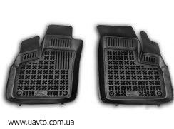 Комплект ковриков автомобильных Rezaw-Plast  201509 чёрные (2 шт.)