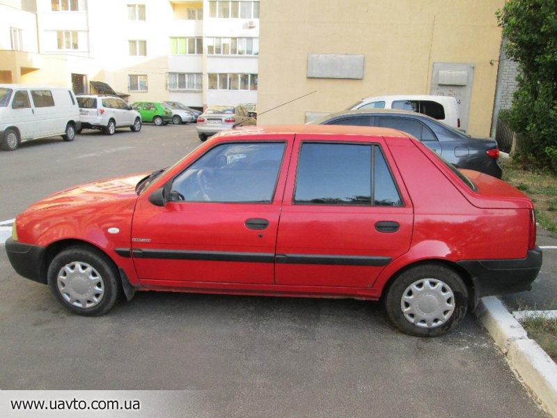 Dacia (дачия) solenza 19 d 4 дв седан 5мкпп 2003-2005 г автомобиль dacia (дачия) solenza в кузове 4 дв