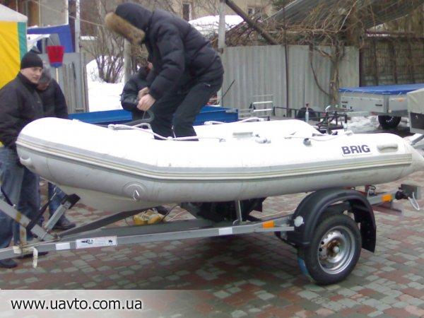 прицеп лодочный для того резиновых лодок