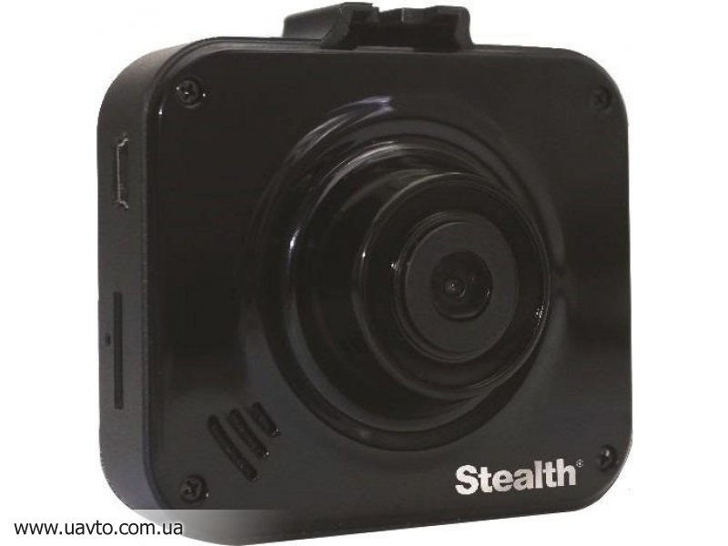 Видеорегистратор Stealth  DVR ST 90 обзор 120°, 1920x1080