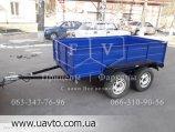 Прицеп двухосный 1.4х2.5х0.55 для легкового автомобиля в Киеве