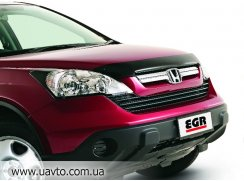 (с логотипом) Honda Дефлектор капота CR-V 2007