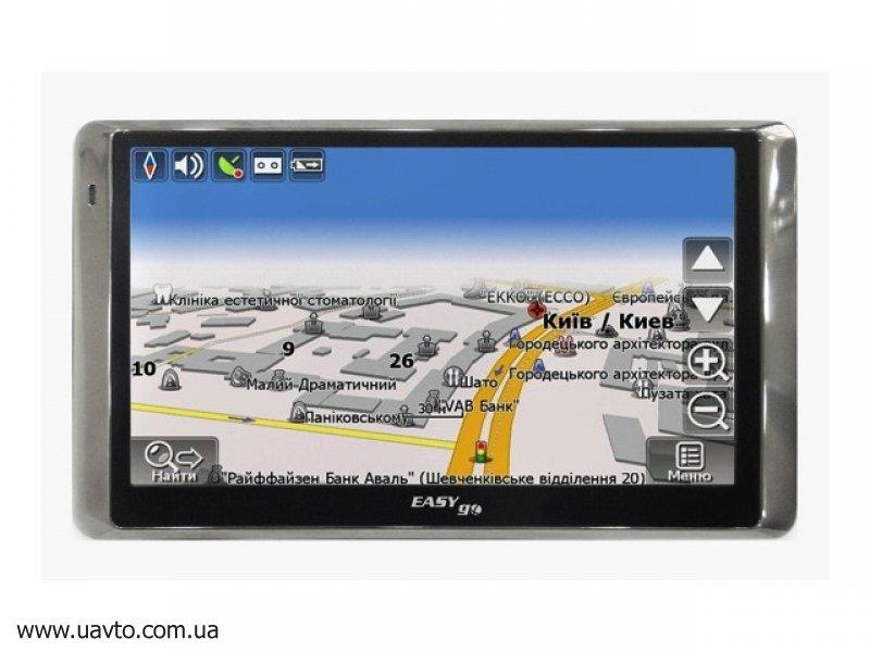 GPS навигатор  EasyGo 530B-DVR