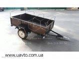 Прицеп однносный 1.2х2.0х0.4 из ламинированной фанеры для легкового автомобиля в Киеве