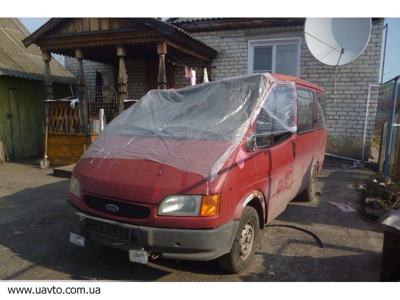 Продажа битых авто форд транзит