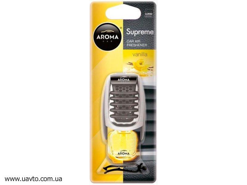 Освежитель воздуха Aroma Car  Supreme 8 мл (ваниль)