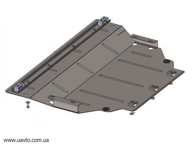 Защита двигателя Кольчуга  Volkswagen Golf -7 2012- (2.0539.00)