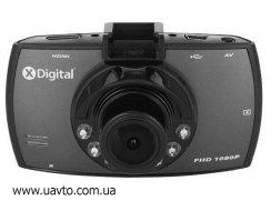 Видеорегистратор X-Digital  AVR-FHD-330 обзор 120°, 1920x1080