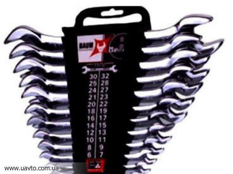 Комплект рожковых ключей BAUM  10-12MP (12 шт.)