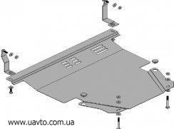 Защита двигателя Кольчуга  Kia Picanto 2004-2007 (1.0019.00)
