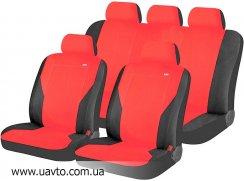 Комплект универсальных чехлов Hadar Rosen  PASS 10911 (красный с чёрным)
