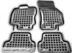 Комплект ковриков автомобильных Rezaw-Plast  200116 чёрные (4 шт.)