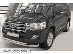 Защита бампера Can-Otomotiv Toyota LC 200 2015+