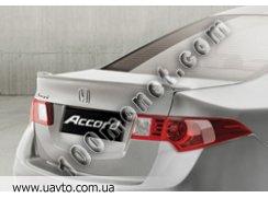 "на Honda Accord Задний спойлер ""Сабля"" 2008"
