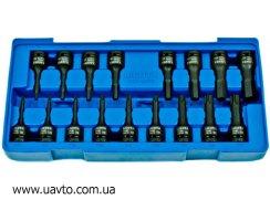 Комплект торцевых ударных головок Licota  ACK-B3013 (12 ) 17 шт.