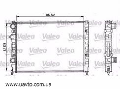 Радиатор VW PASSAT B4 93-95 1,6
