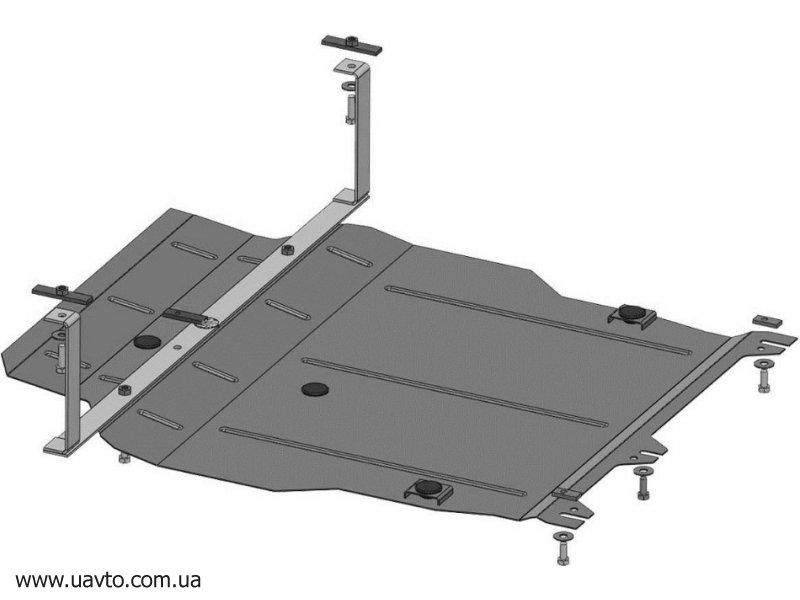 Защита двигателя Кольчуга  Mitsubishi Outlander XL 2006-2012 (1.0405.00)
