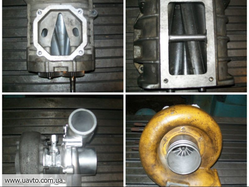 Как сделать механический нагнетатель из турбины
