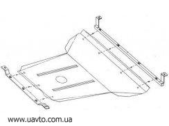 Защита двигателя Кольчуга  Daewoo Nubira II поколение 2000-2003 (1.9101.00)